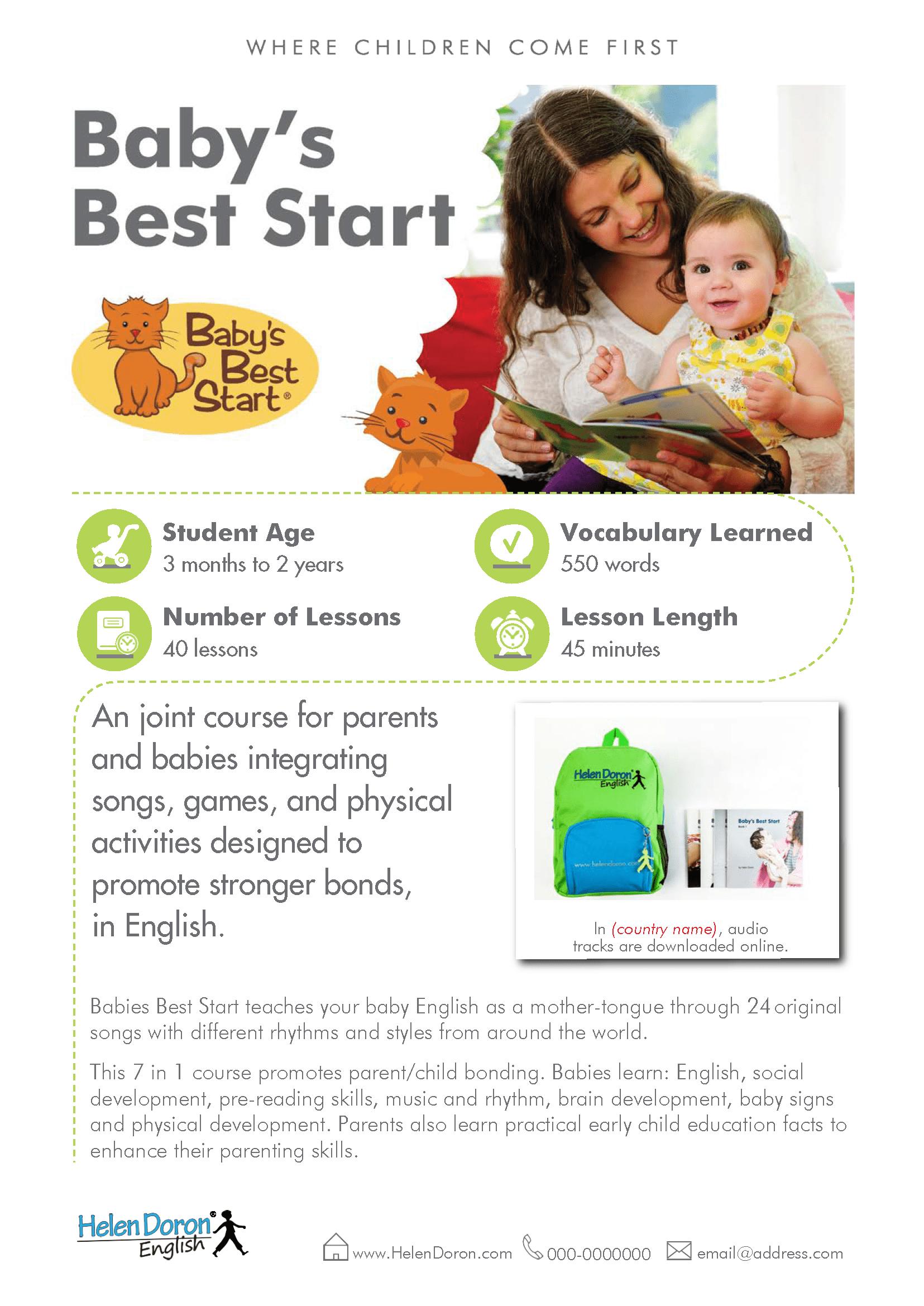 Letöltés - Baby's Best Start