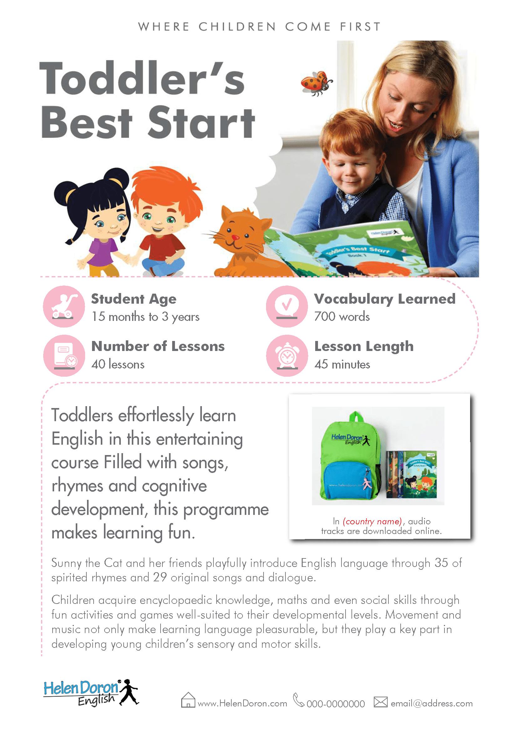 Letöltés - Toddler's Best Start