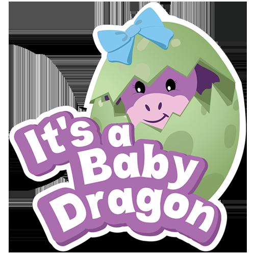 It's a Baby Dragon