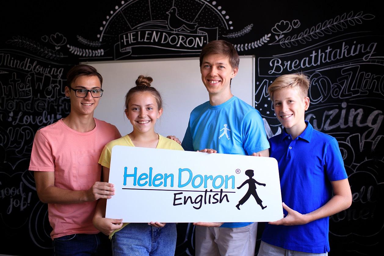 Helen Doron Teens with Teacher
